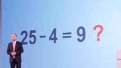 バフェット流バリュー株投資はとっても簡単!!SBG株投資に必要な知識は、小学校1年生の算数だけ。