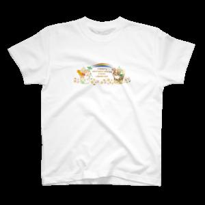 商品イメージ:Tシャツ ピッフィー&パッピィー(キッズ向け)